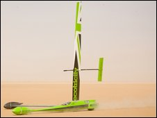Greenbird wind powered vehicle