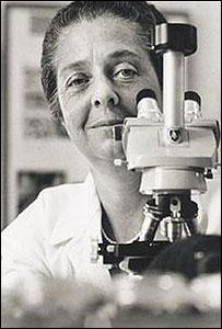 Rita Levi Montalcini, premio Nobel de Medicina 1986 (Foto: gentileza Librería Nacional de Medicina de EE.UU.)