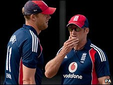 Andrew Flintoff and Andrew Strauss