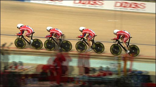 The GB men's team pursuit
