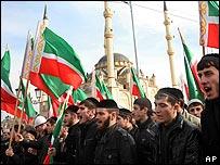 Chechenos festejan el nacimiento de Mahoma