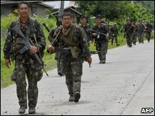 Philippine army soldiers, file image
