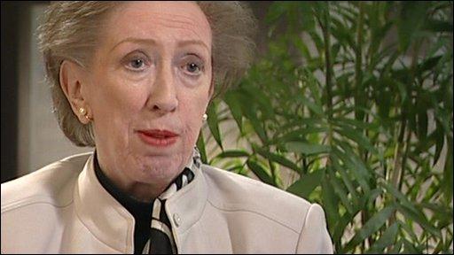 Housing minister Margaret Beckett