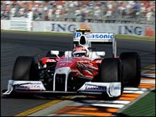 Timo Glock's Toyota