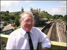 Swanage Railway Trust chairman Mike Whitwam