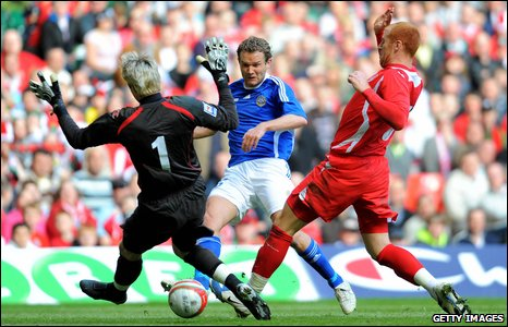World Cup qualifer : Wales v Finland