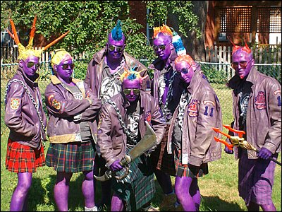 Purple punks