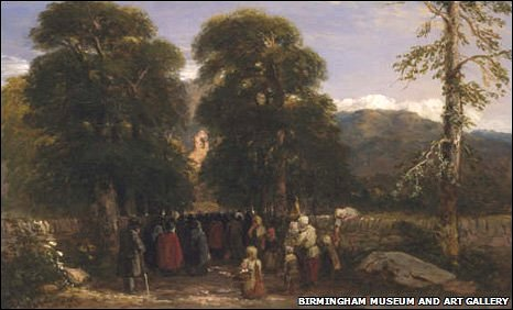 Welsh Funeral - image: Birmingham Museum and Art Gallery