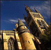 Universidad de Glasgow - foto del sitio de la Universidad.