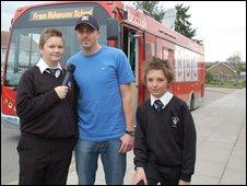 School Reporters from the Ridgeway School in Swindon
