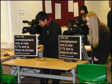 School Reporters from Nab Wood School in West Yorkshire