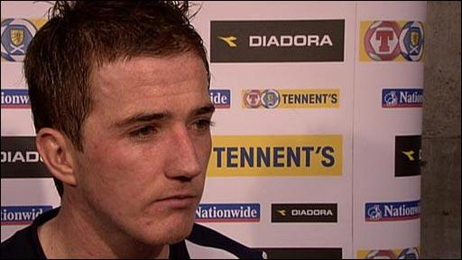 Scotland forward Ross McCormack