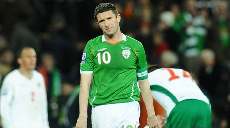 Robbie Keane's Republic of Ireland let two points slip at home to Bulgaria