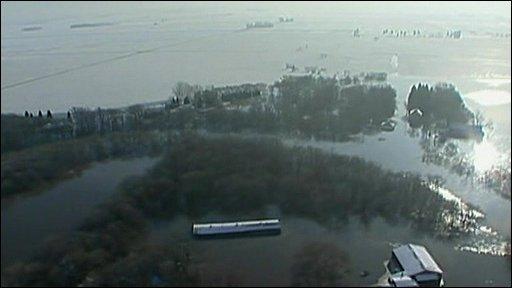 Flooding in Fargo
