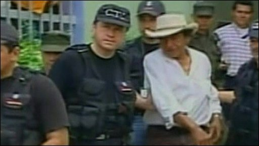 Arcedio Alvarez outside court