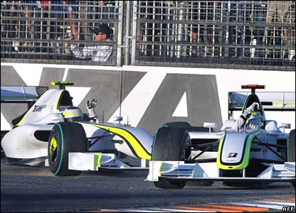 Rubens Barrichello, Jenson Button, Brawn GP