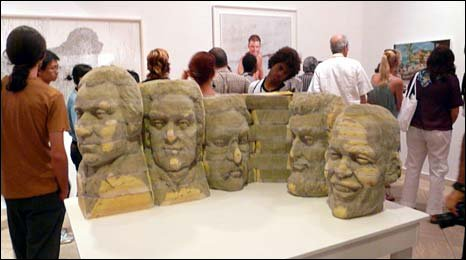 New Mount Rushmore by Long-Bin Chen, featuring Barack Obama