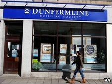 Dunfermline building society branch