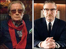 Bill Nighy and Kenneth Branagh in The Boat That Rocked