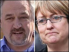 Richard Timney and Jacqui Smith