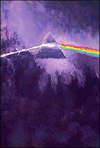 The Dark Side of the Moon, de Storm Thorgerson para Pink Floyd