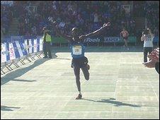 Kenyan runner Kiplino Kimutai