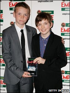 Bill Milner and Will Poulter
