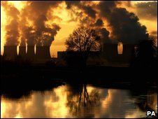 Drax power station in Yorkshire
