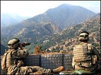 قوات أمريكية في افغانستان