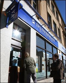 Dunfermline Building Society branch in Falkirk