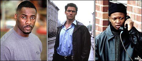 Stringer Bell, Jimmy McNulty and Deangelo Barksdale