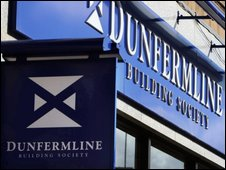 A branch of Dunfermline Building Society