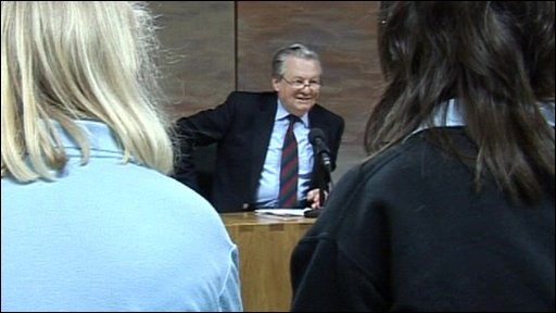 School Reporter interview Welsh Assembly member Alun Davies