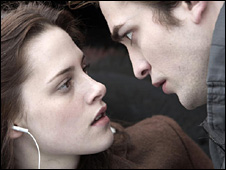 Kristen Stewart and Robert Pattinson