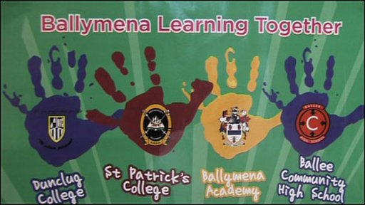 Ballymena Learning Together poster