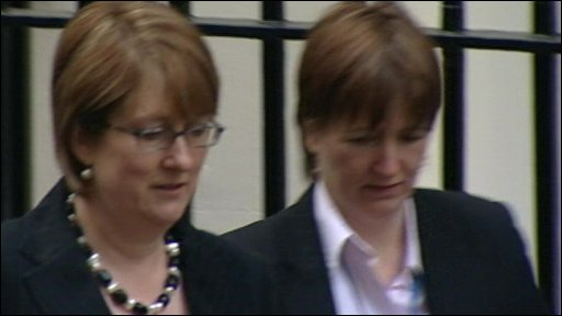 Jacqui Smith and advisor
