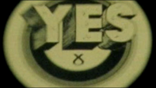 'Vote Yes' graphic
