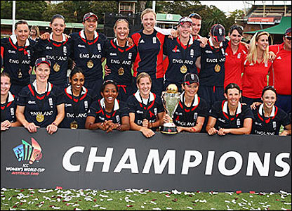 England celebrate after their win over New Zealand