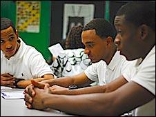 Bronx Academy pupils -