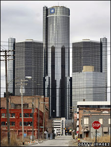 GM headquarters, Detroit, Michigan