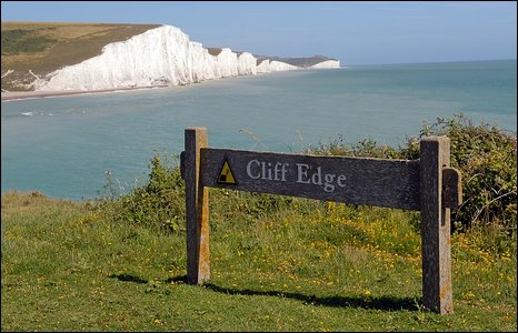 Cliff Edge at Seven Sisters