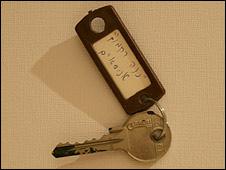 Key of former settlement house