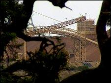 The mine closure has had a devastating effect
