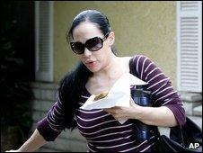 Octuplets mother Nadya Suleman, file picture from 11 March 2009