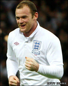 England fans' favourite Wayne Rooney