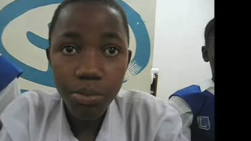 School student from Sierra Leone