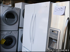 Refrigerators and washing machines on sale