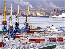 St Petersburg port (Photo: Sea Port of Saint Petersburg)