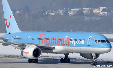 Thomson 757 (library pic) AirTeamImages