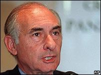 Fernando de la Rúa, imagen de archivo de 1999
